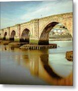 Three Bridges. Metal Print