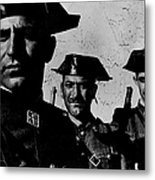 Three Members Of Dictator Francos Feare Metal Print