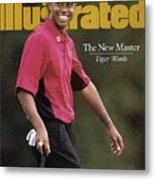 Tiger Woods, 1997 Masters Sports Illustrated Cover Metal Print