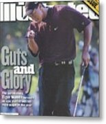 Tiger Woods, 2000 Pga Championship Sports Illustrated Cover Metal Print