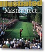 Tiger Woods, 2001 Masters Sports Illustrated Cover Metal Print