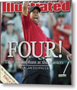 Tiger Woods, 2005 Masters Sports Illustrated Cover Metal Print