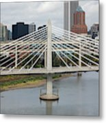 Tilikum Crossing, Portland, Oregon, Usa Metal Print