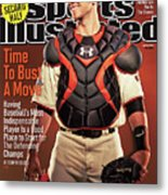 Time To Bust A Move Baseball 2013 repreview Sports Illustrated Cover Metal Print