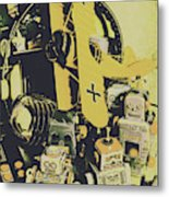 Tin Sign Toys Metal Print