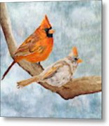 Together Above All Metal Print