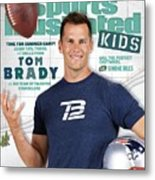 Tom Brady Sports Illustrated Cover Metal Print