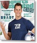 Tom Brady Sports Illustrated Cover Metal Print