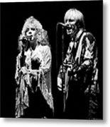 Tom Petty Live Metal Print