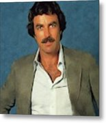Tom Selleck, Actor Metal Print