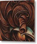 Tommervik Grizzly Bear Salmon Art Print Metal Print