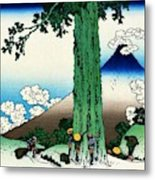 Top Quality Art - Mt,fuji36view-koshu Mishimagoe Metal Print