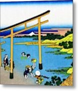Top Quality Art - Mt,fuji36view-nobotonoura Metal Print