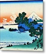 Top Quality Art - Mt,fuji36view-soshu Shichirigahama Metal Print