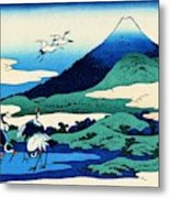 Top Quality Art - Mt,fuji36view-soshu Umezawanosho Metal Print