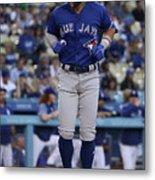 Toronto Blue Jays V Los Angeles Dodgers Metal Print