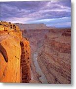 Toroweap Overlook Cliff Metal Print