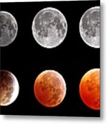 Total Eclipse Of Heart Sequence Metal Print