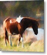 Totem Animal Book Horse Metal Print