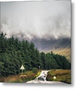 Towards The Fairy Pools Metal Print