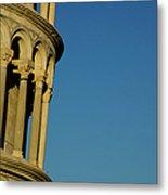 Tower Of Pisa Metal Print