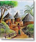 Traditional Village Metal Print