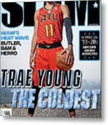 Trae Young: The Coldest SLAM Cover Metal Print