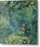 Trail In The Woods Metal Print