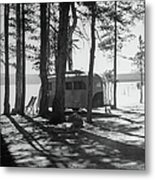 Trailer Park In Yellowstone National Metal Print