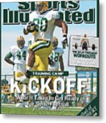 Training Camp Kickoff What It Takes To Get Ready For Some Sports Illustrated Cover Metal Print