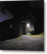 Trapp Family Lodge Cabin Sunrise Stowe Vermont Photo Metal Print