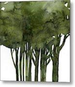 Tree Impressions 1b Metal Print