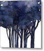 Tree Impressions 1f Metal Print