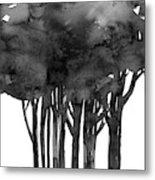 Tree Impressions 1l Metal Print