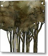 Tree Impressions No. 1a Metal Print