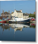Trefusis Gy242 At Glasson Dock Metal Print
