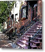 Tremont Street Boston Metal Print
