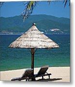 Tropical Holidays On Nha Trang Beach Metal Print
