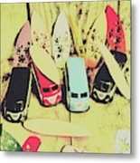 Tropical Trippers 1960 Metal Print