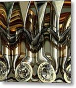 Tubes And Valves Metal Print