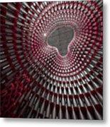 Tubular Construct Metal Print