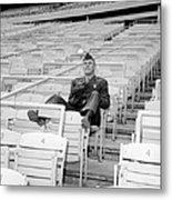 Tug Mcgraw, A Marine Reservist Now Metal Print