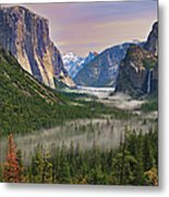 Tunnel View. Yosemite. California Metal Print