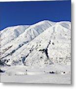 Turnagain Pass On The Kenai Peninsula Alaska Metal Print
