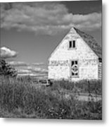 Two Sheds In Blue Rocks #01 Metal Print