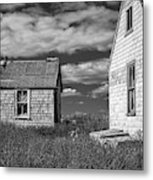 Two Sheds In Blue Rocks #2 Metal Print