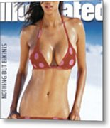 Tyra Banks Swimsuit 1997 Sports Illustrated Cover Metal Print
