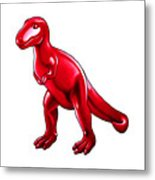 Tyrannosaurus Cartoon Metal Print