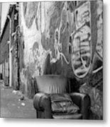 U Street Chair Washington Dc Metal Print