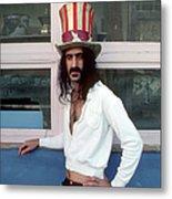 Uncle Zappa Wants You Metal Print